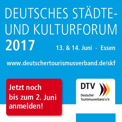 Deutsches Städte- und Kulturforum 2017 - Banner